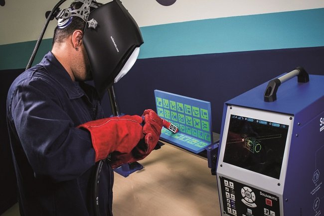 ENVIRONMENTALLY-FRIENDLY AUGMENTED-REALITY WELDING SIMULATOR GEARS UP FOR EDUCATION 4.0 2